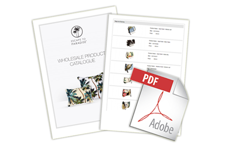 Product catalogue PDF