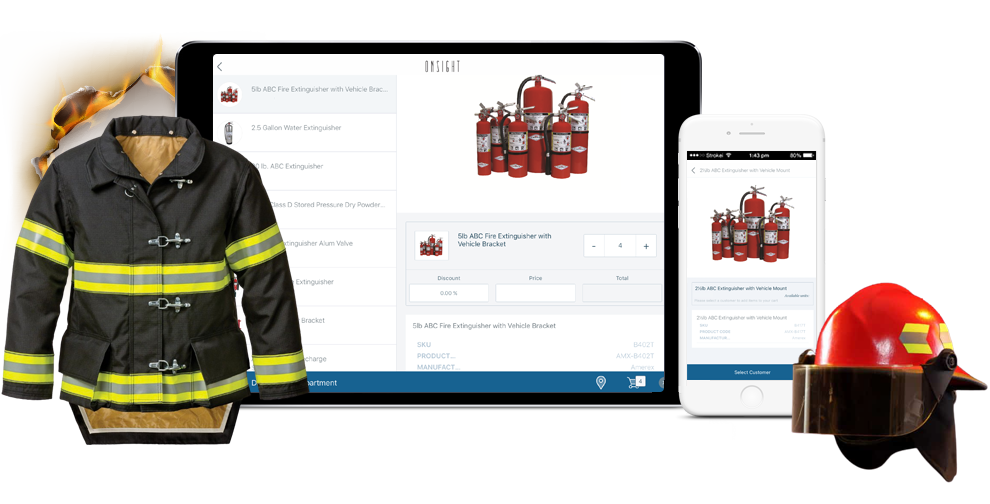 Fire Safety Services - Sales App